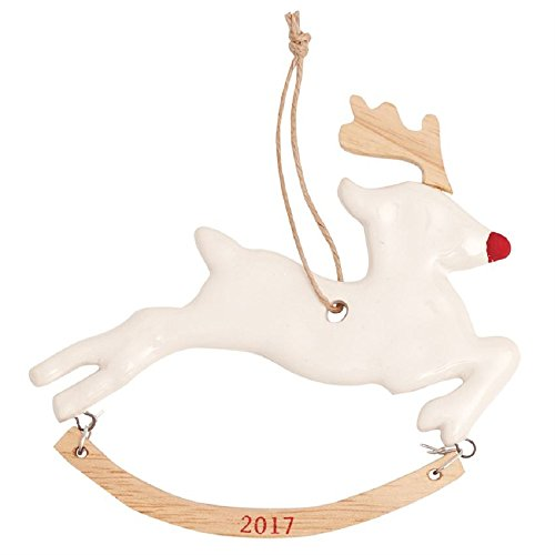 Mud Pie REINDEER 2017 ORNAMENT
