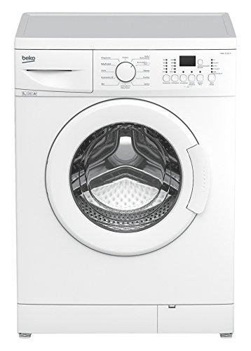 Beko WML 51431 E Waschmaschine Frontlader / A+ B / 0.688 kWh / 1400 UpM / 5 kg / Großes Programmauswahl / weiß