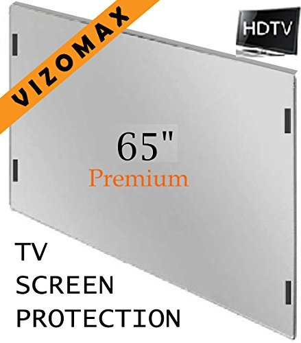 65 inch Vizomax TV Screen Protector for LCD, LED, OLED & QLED 4K HDTV