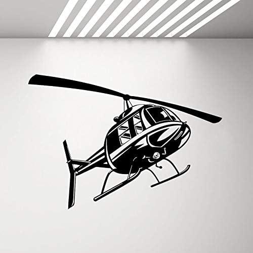 Tianpengyuanshuai Etiqueta de la Pared de la Fuerza aérea del helicóptero Decoración Juvenil del Dormitorio Familia Militar Arte Interior Vinilo Etiqueta de la Pared Avión 85x60cm: Amazon.es: Hogar