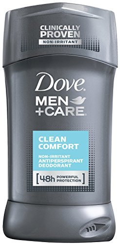 Dove Men Plus Care NonIrritant Antiperspirant, Clean Comfort, 2.7 Ounce (Pack of 4)