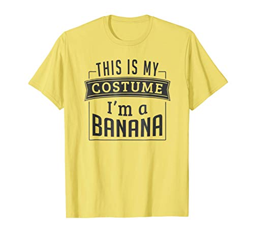 Mens Easy Halloween Costume For Adults - I'm A Banana T-Shirt Medium Lemon for $<!--$19.99-->