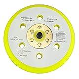 Hoock&Loop (Velcro) 6 inch Back Up Pad (Plate) for Random and Orbital Sander or Polisher and Buffer Machine 15 Holes 5/16 inch Thread