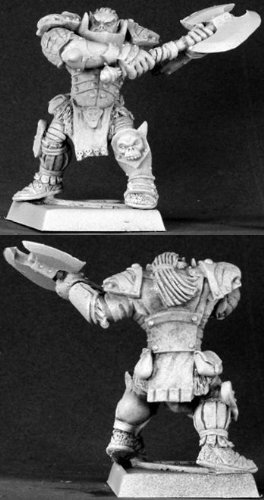 (Varaug Black Orc Warlord Warlord Minature Figures by Reaper Miniatures)