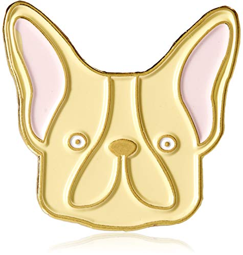 - Ivy Enamel Pin, Jewlery- French Bulldog - Boston Terrier or Dog Lover for Mom, Sister, Wife, Bestie Birthday, Valentines, Christmas