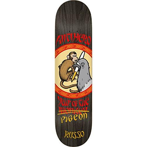 放棄はず脳Anti Hero Skateboards Robbie Russo Year of the Pigeonスケートボードデッキ – 8.38