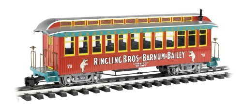 (Bachmann Ringling Bros. and Barnum & Bailey - Jackson Sharp Coach #73 - Large