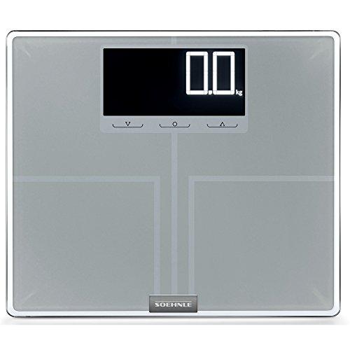 Soehnle 63869 Shape Sense Profi Digital Bathroom Scale | Silver by Soehnle