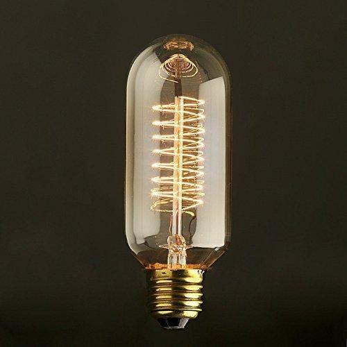 Lightstyl - Ampoule Edison Tube 6 cm - DECL-117 - Ampoule Deco Design Tendance Retro Vintage Incandescence