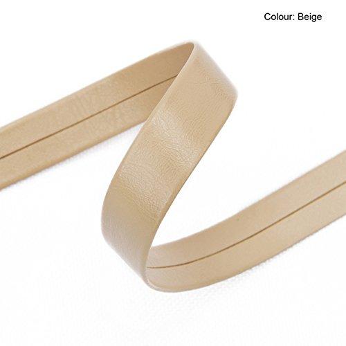 White Leatherette Pram - 9