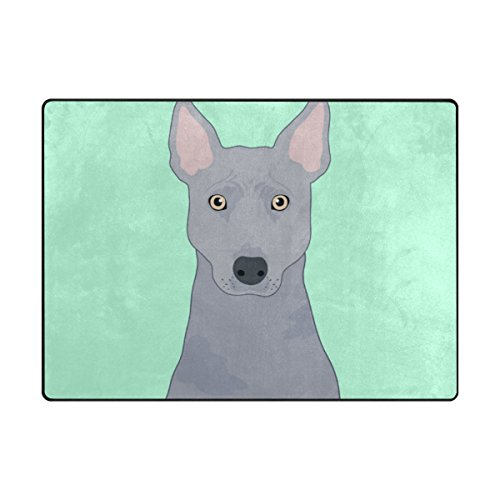 My Daily Thai Ridgeback Dog Area Rug 4' x 5'3'', Living Room Bedroom Kitchen Decorative Lightweight Foam Printed Rug by ALAZA