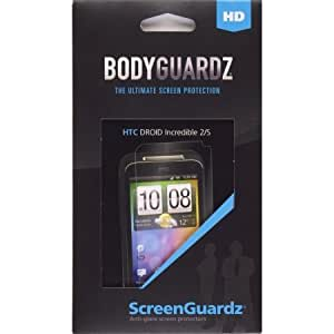 BodyGuardz BZ-HHIS-0411-Z ScreenGuardz HD Anti Glare Screen Protector for HTC Droid Incredible 2