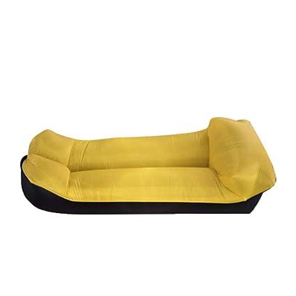 KfeiWO Sofa Hinchable Exteriores portátil Impermeable Aire colchón Tumbona Cama Saco de Dormir Hogar Oxford Puff
