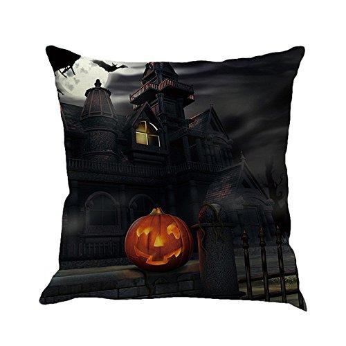 Litetao 2017 Happy Halloween Square Pillowcases Linen Sofa