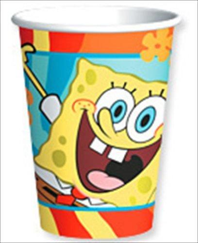 SpongeBob 'Buddies' Paper Cups (8ct)]()