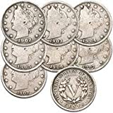 1900 Various Mint Marks U.S. Liberty Head