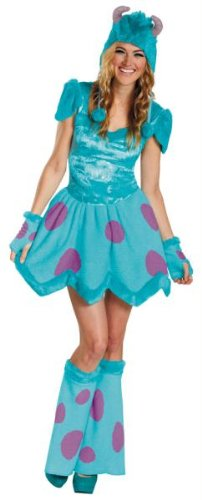 [Sassy Sulley Adult Costume - Small] (Sassy Pumpkin Witch Costumes)