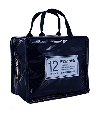 Waterproof Thermal Cooler Insulated Lunch Box Storage (Dark Blue) - 3