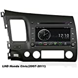 susay(TM) OEM for Honda civic 2007 -2011(LeftHand Drive) Android 4.0 In dash Car radio gps Navigation(free Map) wifi Bluetooth dvd player