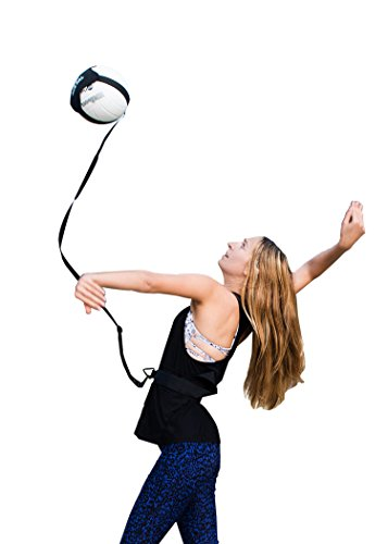 (Volleyball Training Equipment Aid - Solo practice for Serving and Arm Swings trainer - Serving like a pro with the Right Equipment)