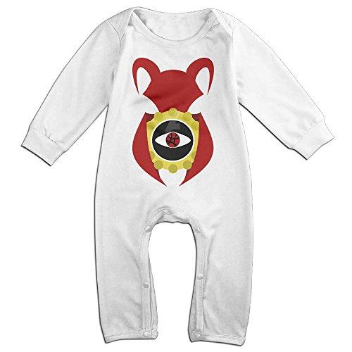 Dara Super Magician Doctor Strange Logo Boy's & Girl's Long Sleeve Baby Climbing Clothes White 12 Months