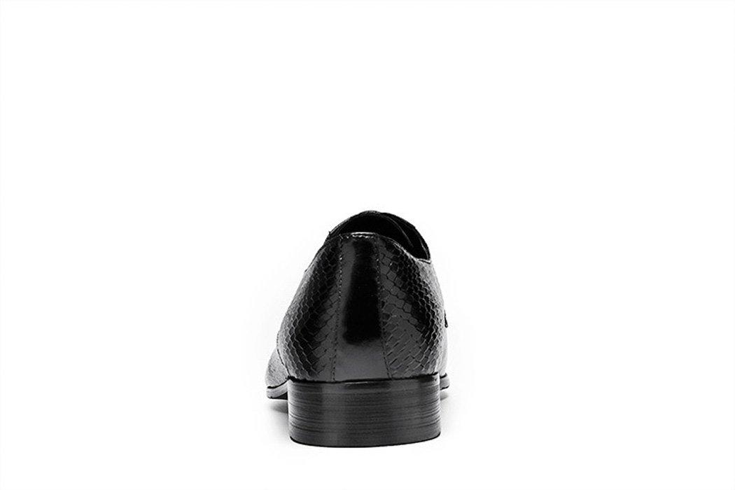 GDXH Herren Lederschuhe 2018 handgefertigte Lederschuhe Kleid Serpentine Serpentine Kleid britischen Stil spitz Zehenschuhe Formale Schuhe b6dc86