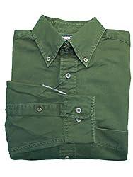 Roundtree & Yorke Classic BIG Rosin Cotton Twill L/S Button-down Collar Shirt 3XB