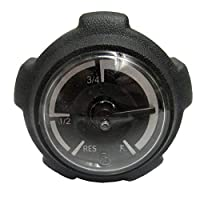 97-12 POLARIS SCRAM500: Casquillo del indicador de combustible de los accesorios genuinos Polaris (negro)