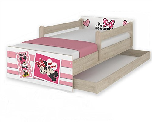 Nuovi modelli 160 x 80 posti letto per bambini disney minnie ups hogartrend letti e materassi - Letto per bambini 160 80 ...