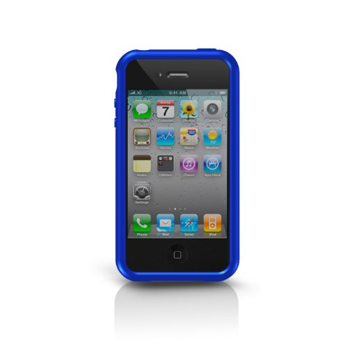 Grip Iphone Sport For Marware (Marware Sport Grip Edge Case for iPhone 4 - Blue - Fits AT&T iPhone)