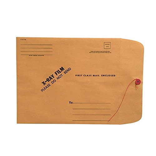(X-Ray Film Mailers, 28lb Brown Kraft, 11