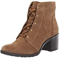 Anne Klein Women's Kimbree Bootie Ankle Boot (Cognac)