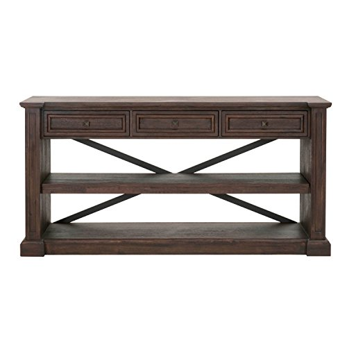 - Orient Express Furniture Hudson Dining Console, Rustic Java