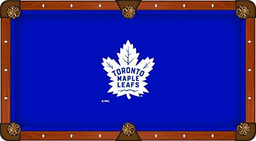 Holland Bar Stool Co. Toronto Maple Leafs Blue Billiard Pool Table Cloth (8') ()