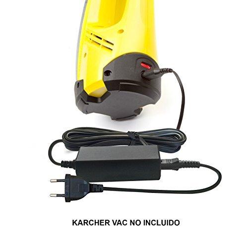 ABC Products® Reemplazo del cable de Kärcher 5.5v 600mA Batería Cargador / Adaptador Adaptador Fuente de alimentación 2,633-115,0 / 26331150 para WV2 WV 2 Premium segunda generación, WV5 WV 5 Prima segunda generación, W