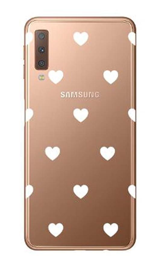 Novago kompatibel mit Samsung Galaxy A7 2018 (SM-A750) Schutzhülle handyhülle hülle mit Phantasie Muster Solider Anti-Schock