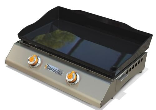 Plancha Grills Coroa 2-Burner with Hi Wall Plate