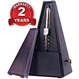 GLEAM Mechanical Metronome for Musicians with Free Bag(Black)