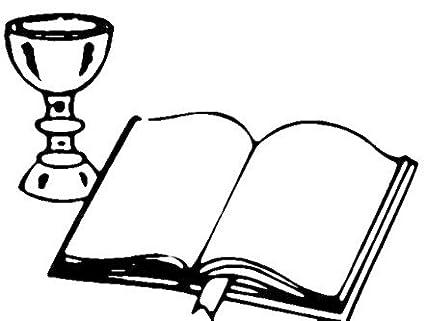 Sello para hacer tarjetas Biblia y copas para sellos de ...
