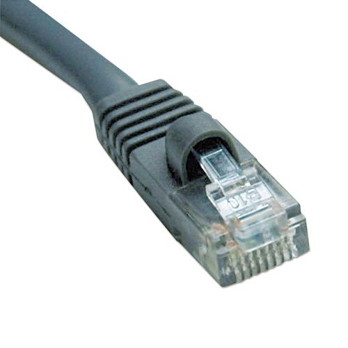 Cat5e Molded Patch Cable 100 Ft. Tripp Lite Gray By