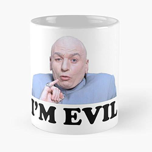Austin Powers Dr Evil Doctor Morning Coffee Mug Ceramic Novelty Holiday
