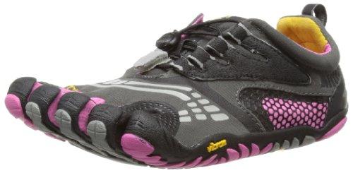 (Vibram Women's FiveFingers, KomodoSport LS Multi-Sport Minimalist Shoe Gray Pink 3.9)