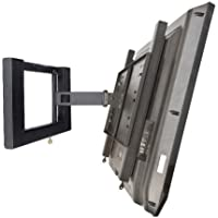 Locking TV Mount - BMS Single Articulating Arm Mount with Key Locking Security
