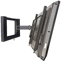 Locking TV Mount - BMS Single Articulating Arm Mount with Key Locking Security
