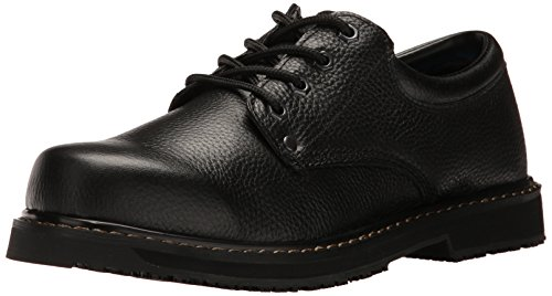 Dr. Scholl's Shoes Men's Harrington II Work Shoe, Black, 11 M US