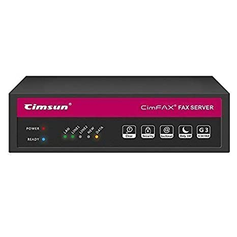CimFAX T5 Two-line/Two-Port Fax Server Fax2email Remote login All-in-one  Fax System 200 Users Send/Receive Fax from PC/Phone Fax Via Phone Line V 34