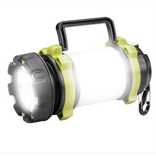 HOMELEI LED Camping Lantern Rechargeable, 600lm LED Flashlight Lanterns Battery Powered, 4 Light Modes, 3000mAh Power Bank, IPX4 Waterproof, Perfect for Camping, Hiking, Outdoor, Home, Emergency.