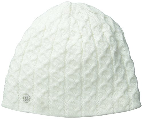 Spyder Women's Cable Hat, White, One ()