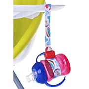Nuby Keepeez Adjustable Bottle/Cup Strap, Red