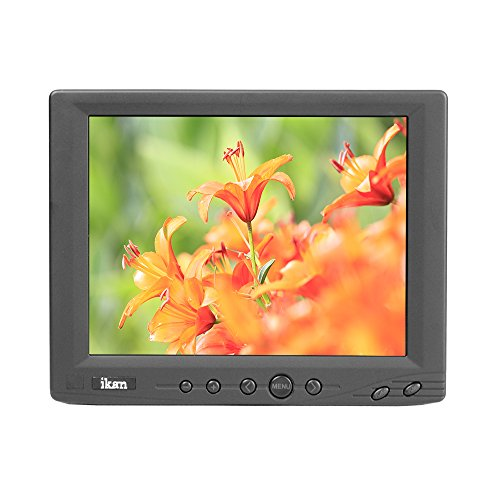 Ikan V8000T 8-Inch LCD Touch Screen Monitor (Black) by Ikan
